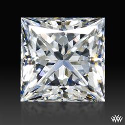 1.045 ct F VVS2 A CUT ABOVE® Princess Super Ideal Cut Diamond