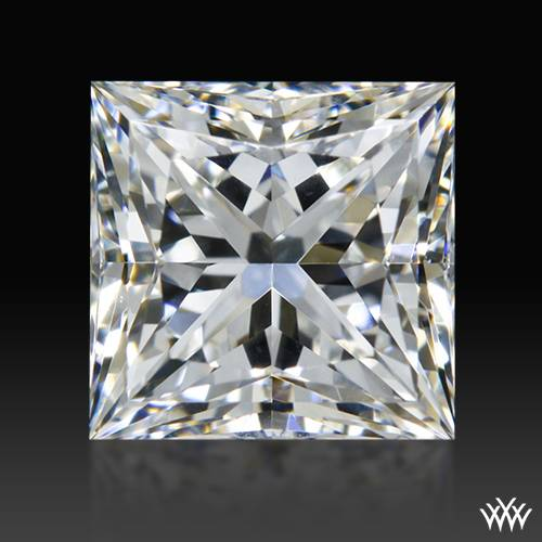0.926 ct G SI1 A CUT ABOVE® Princess Super Ideal Cut Diamond