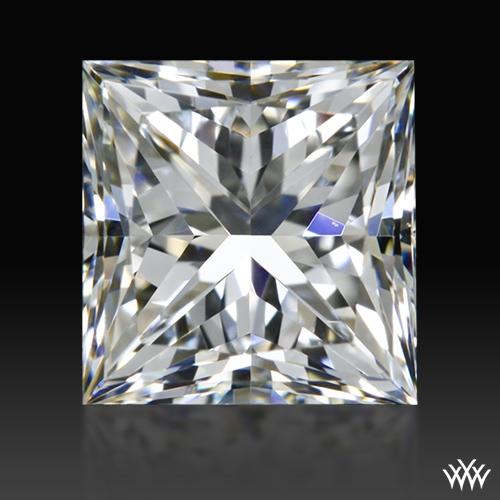 0.905 ct H VS1 A CUT ABOVE® Princess Super Ideal Cut Diamond