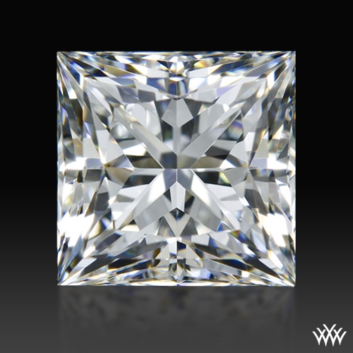 0.924 ct H VS2 A CUT ABOVE® Princess Super Ideal Cut Diamond