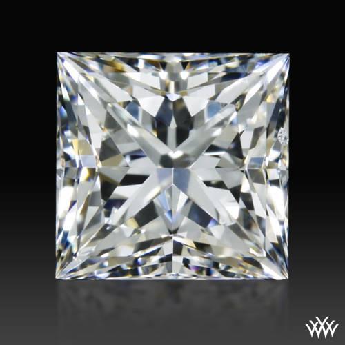 0.904 ct G SI1 A CUT ABOVE® Princess Super Ideal Cut Diamond