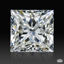 0.904 ct G SI1 A CUT ABOVE® Princess Super Ideal Cut Diamond