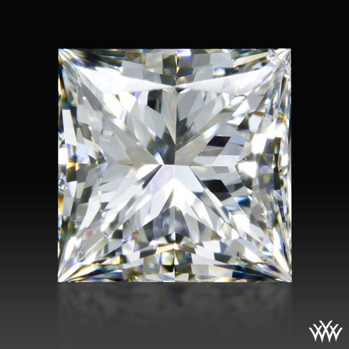 0.90 ct H SI1 A CUT ABOVE® Princess Super Ideal Cut Diamond