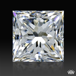 0.804 ct E VS1 A CUT ABOVE® Princess Super Ideal Cut Diamond