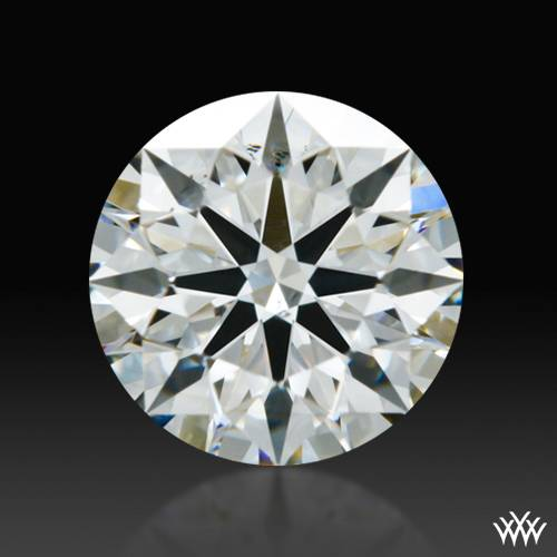 0.792 ct H SI1 A CUT ABOVE® Hearts and Arrows Super Ideal Round Cut Loose Diamond