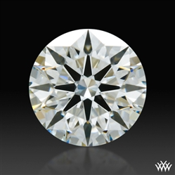 0.734 ct I SI1 A CUT ABOVE® Hearts and Arrows Super Ideal Round Cut Loose Diamond