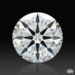0.60 ct F SI1 A CUT ABOVE® Hearts and Arrows Super Ideal Round Cut Loose Diamond