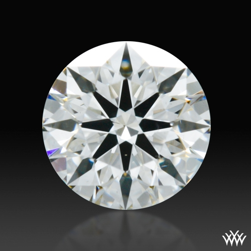 0.542 ct G SI1 A CUT ABOVE® Hearts and Arrows Super Ideal Round Cut Loose Diamond