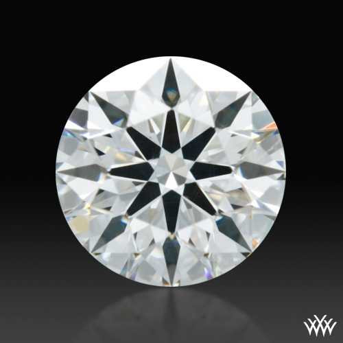 0.594 ct G SI1 A CUT ABOVE® Hearts and Arrows Super Ideal Round Cut Loose Diamond
