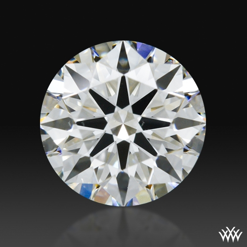 0.505 ct H VS2 A CUT ABOVE® Hearts and Arrows Super Ideal Round Cut Loose Diamond