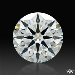 0.57 ct H SI1 A CUT ABOVE® Hearts and Arrows Super Ideal Round Cut Loose Diamond