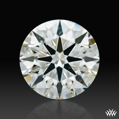 0.588 ct I VS2 A CUT ABOVE® Hearts and Arrows Super Ideal Round Cut Loose Diamond