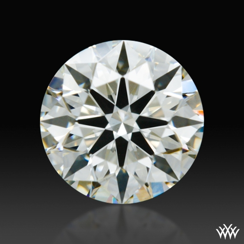 0.51 ct J VS2 A CUT ABOVE® Hearts and Arrows Super Ideal Round Cut Loose Diamond