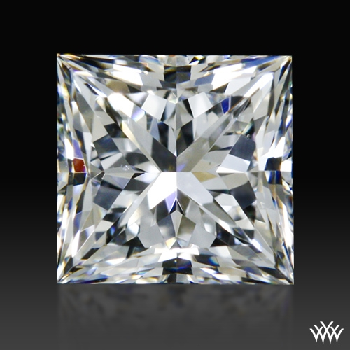 0.506 ct E VS2 A CUT ABOVE® Princess Super Ideal Cut Diamond