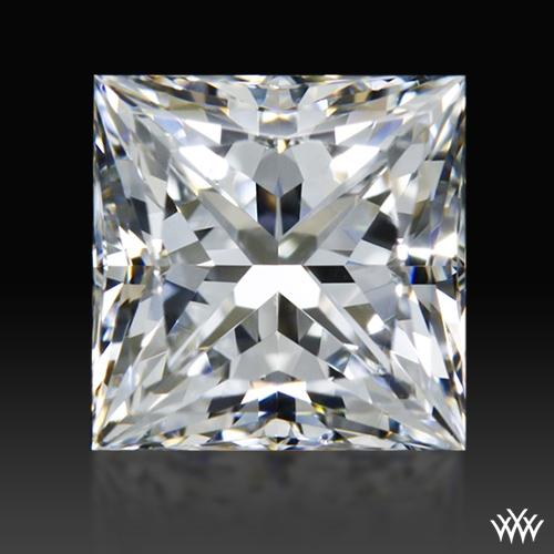 0.931 ct G SI1 A CUT ABOVE® Princess Super Ideal Cut Diamond
