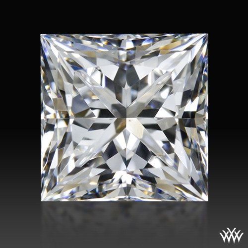 0.914 ct F VS2 A CUT ABOVE® Princess Super Ideal Cut Diamond
