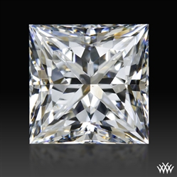 0.914 ct F VS2 A CUT ABOVE® Princess Super Ideal Cut Diamond