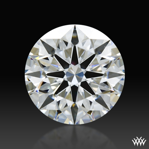 0.828 ct D SI1 A CUT ABOVE® Hearts and Arrows Super Ideal Round Cut Loose Diamond