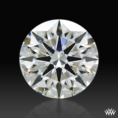 0.745 ct F VS2 A CUT ABOVE® Hearts and Arrows Super Ideal Round Cut Loose Diamond