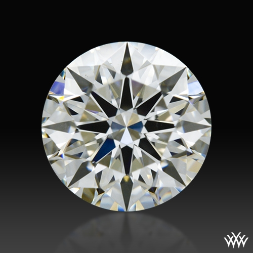 0.837 ct H VS1 A CUT ABOVE® Hearts and Arrows Super Ideal Round Cut Loose Diamond