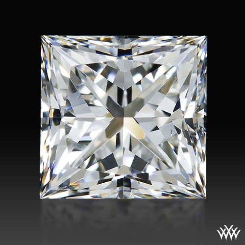 0.741 ct G VS2 A CUT ABOVE® Princess Super Ideal Cut Diamond