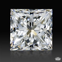 0.741 ct G VS2 A CUT ABOVE® Princess Super Ideal Cut Diamond