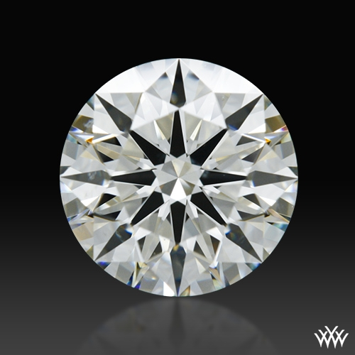 1.186 ct K SI1 A CUT ABOVE® Hearts and Arrows Super Ideal Round Cut Loose Diamond