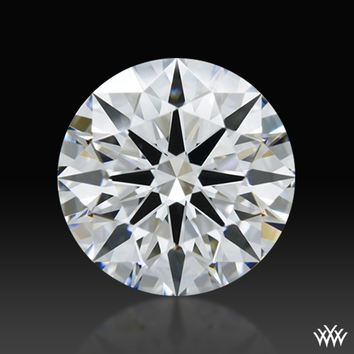 1.111 ct D VVS2 A CUT ABOVE® Hearts and Arrows Super Ideal Round Cut Loose Diamond