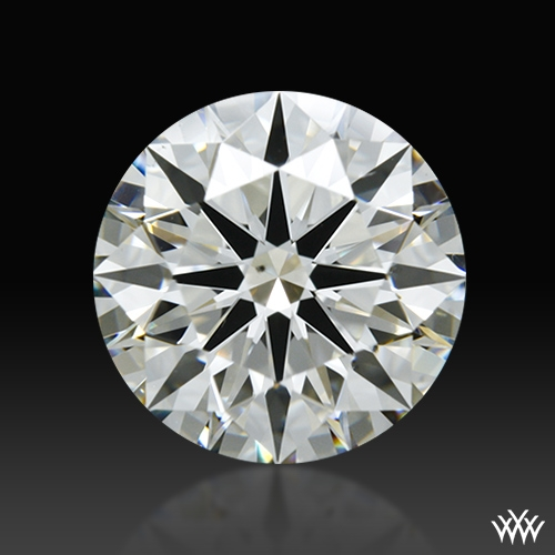 1.645 ct J SI1 A CUT ABOVE® Hearts and Arrows Super Ideal Round Cut Loose Diamond