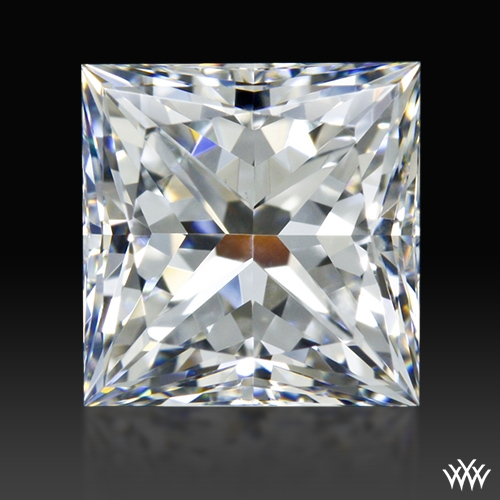 1.092 ct E VS1 A CUT ABOVE® Princess Super Ideal Cut Diamond