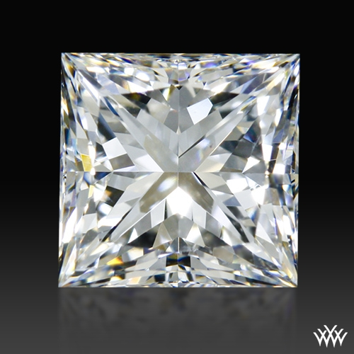 1.248 ct H VS2 A CUT ABOVE® Princess Super Ideal Cut Diamond