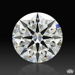 1.107 ct G SI1 A CUT ABOVE® Hearts and Arrows Super Ideal Round Cut Loose Diamond