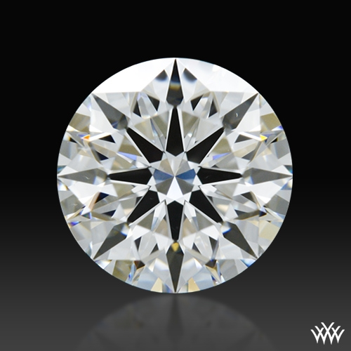 1.244 ct E SI1 A CUT ABOVE® Hearts and Arrows Super Ideal Round Cut Loose Diamond