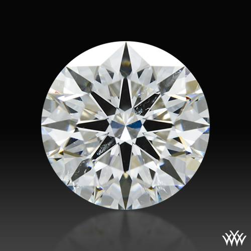 1.307 ct F SI1 A CUT ABOVE® Hearts and Arrows Super Ideal Round Cut Loose Diamond