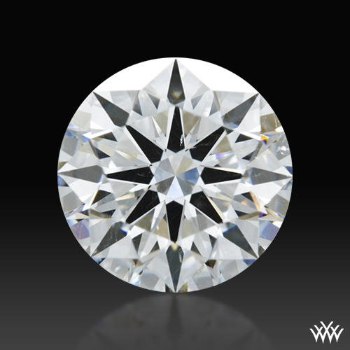 1.345 ct E SI1 A CUT ABOVE® Hearts and Arrows Super Ideal Round Cut Loose Diamond