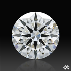 1.345 ct E SI1 A CUT ABOVE® Hearts and Arrows Super Ideal Round Cut Loose Diamond
