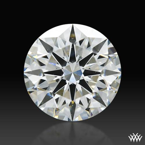 1.307 ct H VS2 A CUT ABOVE® Hearts and Arrows Super Ideal Round Cut Loose Diamond