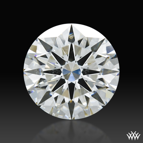 1.503 ct H SI1 A CUT ABOVE® Hearts and Arrows Super Ideal Round Cut Loose Diamond