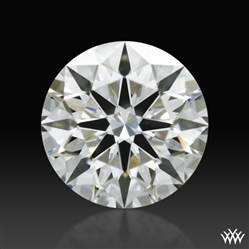 0.842 ct H VS1 A CUT ABOVE® Hearts and Arrows Super Ideal Round Cut Loose Diamond