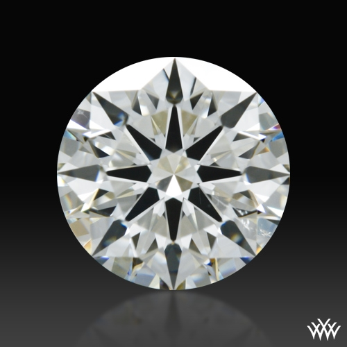 0.938 ct I SI1 A CUT ABOVE® Hearts and Arrows Super Ideal Round Cut Loose Diamond