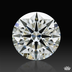 0.708 ct I VS2 A CUT ABOVE® Hearts and Arrows Super Ideal Round Cut Loose Diamond