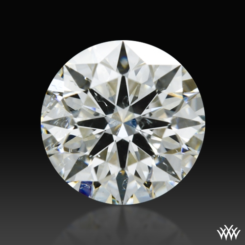 0.72 ct I SI2 A CUT ABOVE® Hearts and Arrows Super Ideal Round Cut Loose Diamond