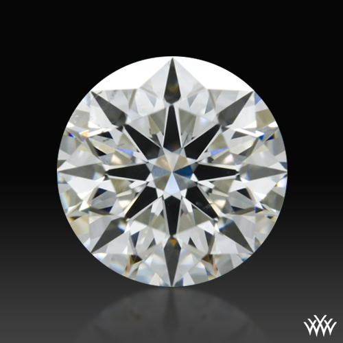0.738 ct H SI1 A CUT ABOVE® Hearts and Arrows Super Ideal Round Cut Loose Diamond