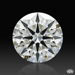 0.724 ct G SI2 A CUT ABOVE® Hearts and Arrows Super Ideal Round Cut Loose Diamond