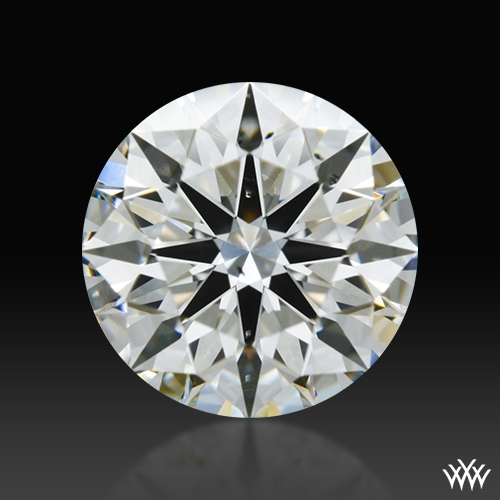 0.942 ct H VS2 A CUT ABOVE® Hearts and Arrows Super Ideal Round Cut Loose Diamond