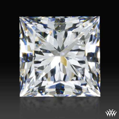 0.967 ct F VS2 A CUT ABOVE® Princess Super Ideal Cut Diamond