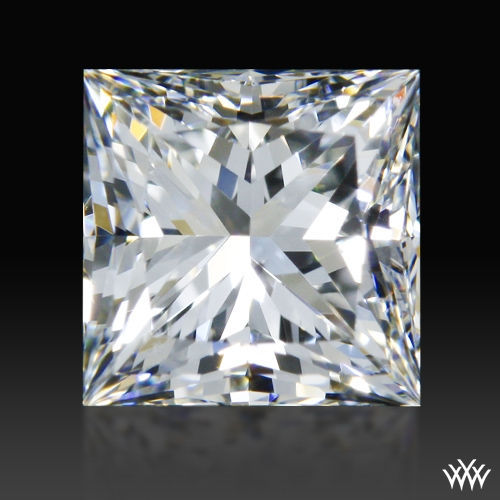 0.801 ct G SI1 A CUT ABOVE® Princess Super Ideal Cut Diamond