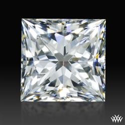0.841 ct E VVS2 A CUT ABOVE® Princess Super Ideal Cut Diamond
