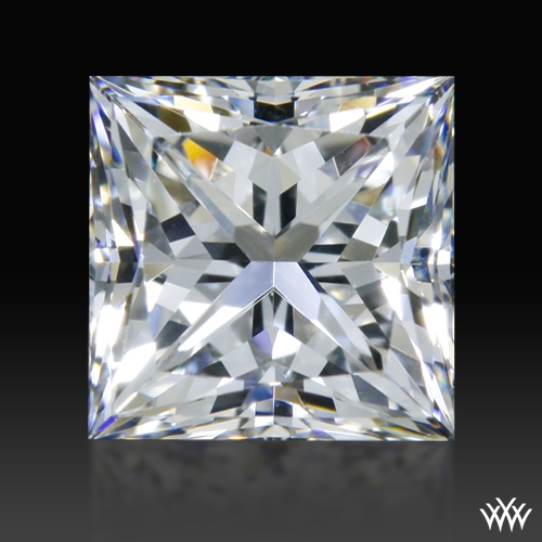 0.78 ct F VS1 A CUT ABOVE® Princess Super Ideal Cut Diamond