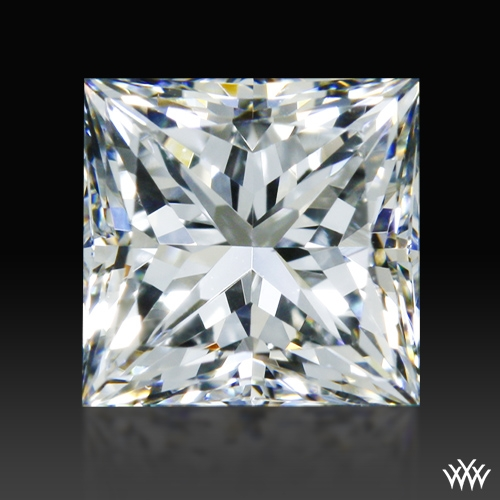 0.703 ct F VS1 A CUT ABOVE® Princess Super Ideal Cut Diamond